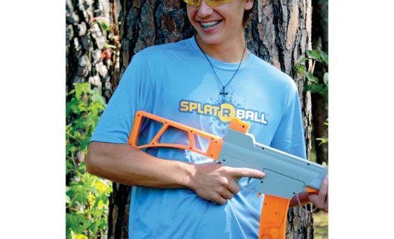 SplatRBall T-Shirt Blue